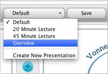 presentation save - Hướng dẫn và cài đặt bản đồ tư duy IMindMap 6 Full